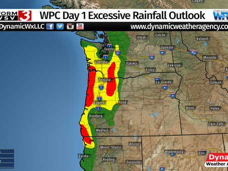 Atmospheric River Brings Heavy Rainfall to the Pacific Northwest