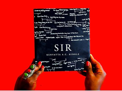 SIR by Kenyatta A.C. Hinkle
