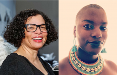"""In Conversation: Lava Thomas and Kenyatta A.C. Hinkle. Monumental: Public Art and Protest 2020"""" Berkeley Arts and Design"""