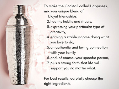 The Cocktail called Happiness