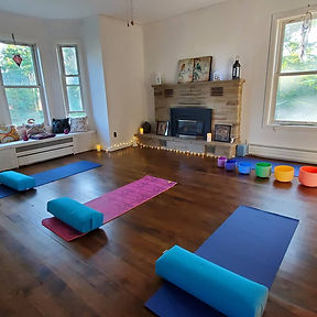 Balance your chakras, mind and body with Reiki Restorative Yoga. Learn the yoga postures to stretch and relax your mind and body.
