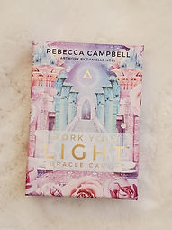 Work your light oracle cards can provide answers and guidance.