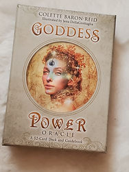 Goddess Power Oracle Cards help us connect to, understand and navigate the invisible worls that influences human events.