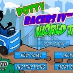 Games Potty Racers 4