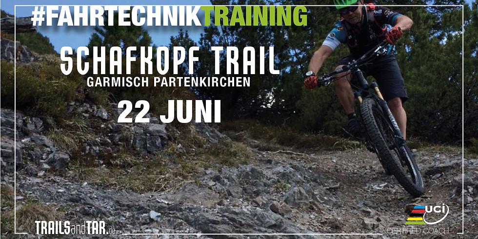 "#fahrtechniktraining ""Schafkopf trail"""