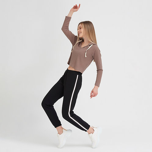 Siyah Sweat Pantolon