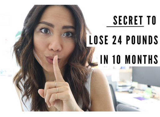 My Secret To Mindfully Lose 24 Pounds In 10 Months