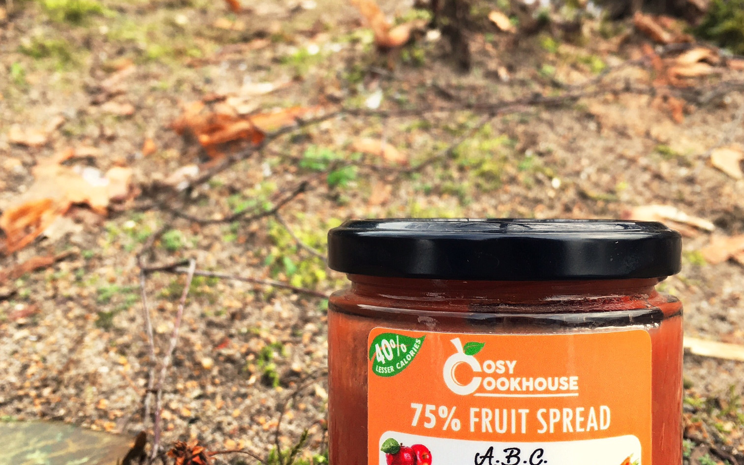 A.B.C. - 75% Fruit Spread - Mix of Apple, Beetroot & Carrot (no added sugar)