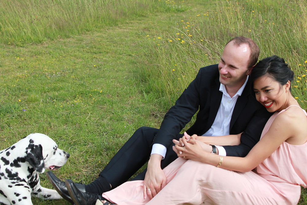 My Loving Husband, Our Sweet Dalmatian & I-rewriting the story of your life