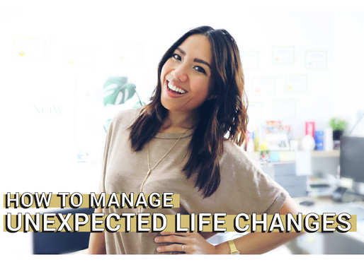 How To Deal With Unexpected Big Changes In Life