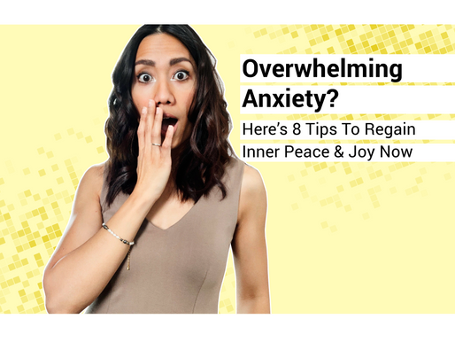 Experiencing Overwhelming Stress? Try These 8 Tips