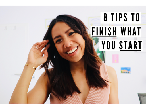 Why You Can Never Finish Anything And 8 Tips to Finally Change It