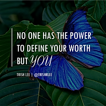 #001 No one has the power to define your