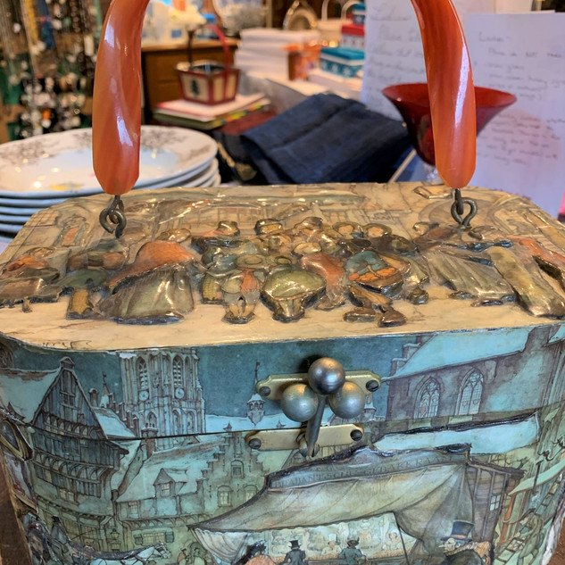 decoupage bakelite bag.jpg