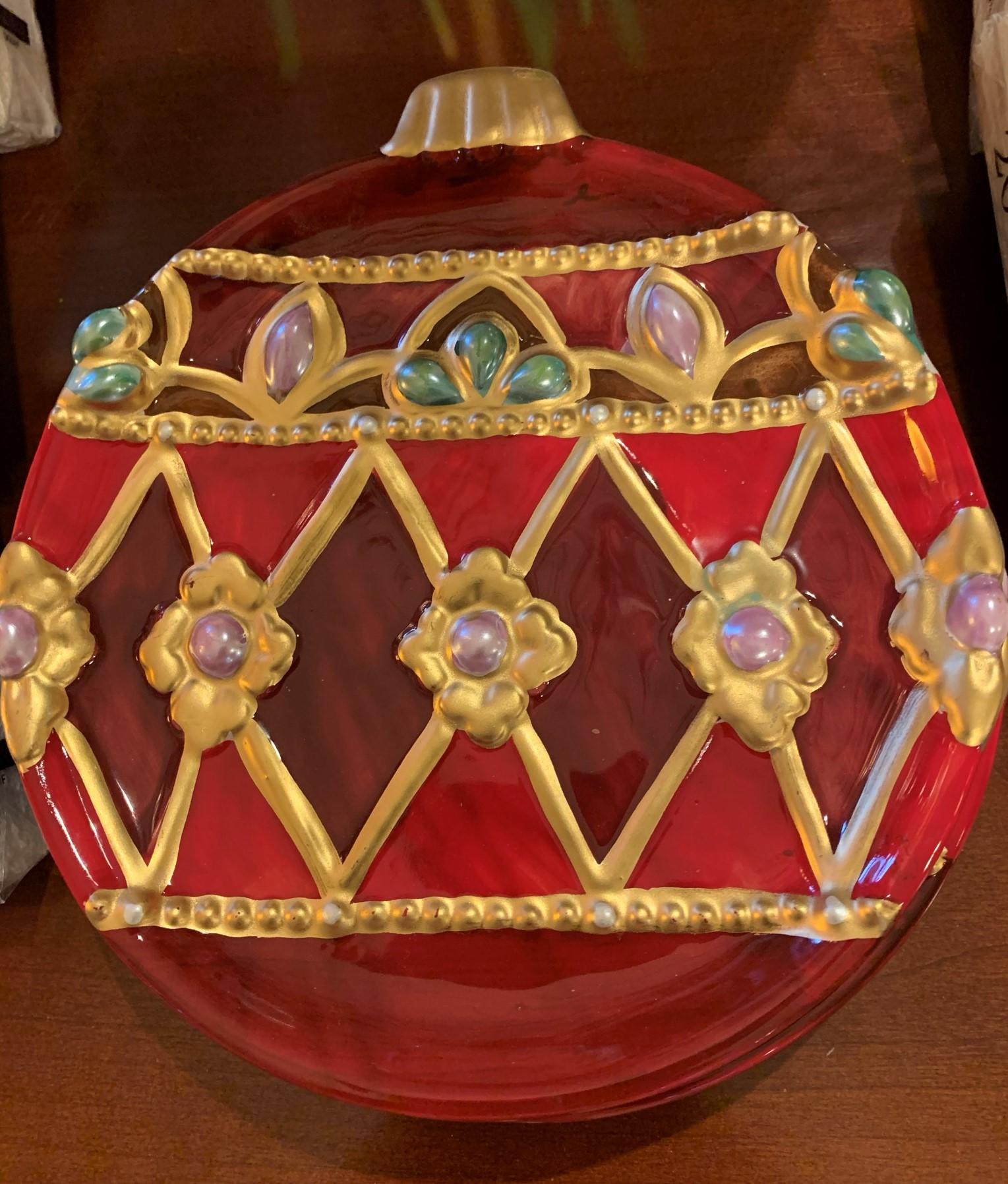4 Ornament canape Dishes