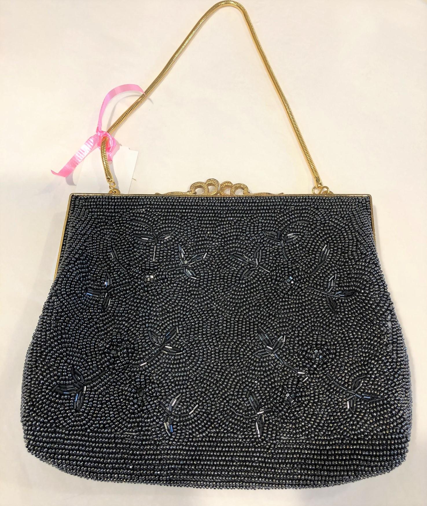 beaded evening bag