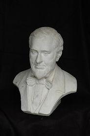 A. T. Stewart bust- Life-size plaster- G