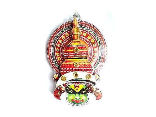 Wall Hanging Kadhakali Mask | Kerala Traditional Handcrafted Plywood Kadhakali