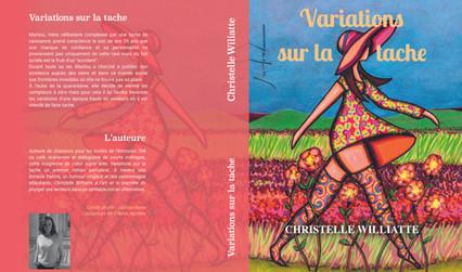 """livre de Christelle Williatte """"Variations sur la tache"""""""