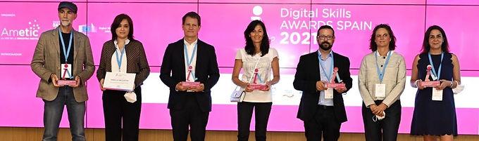 Women4IT recognised at AMETIC's Digital Skills Awards Spain 2021