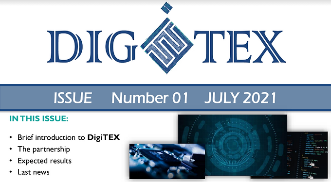 The 1st newsletter of the DIGITEX project has been published