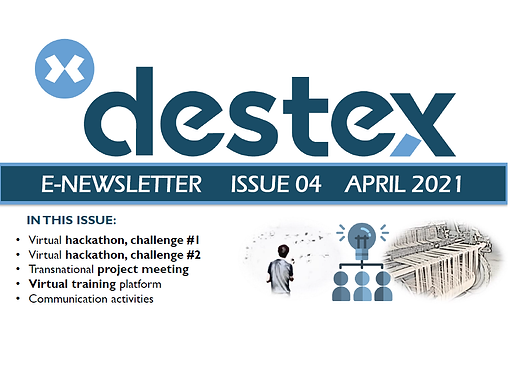 The new DESTEX newsletter is out!