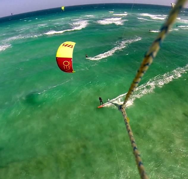 Point de vue du kite