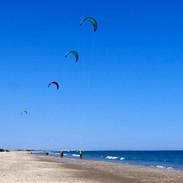 Exerice de maniement du kite