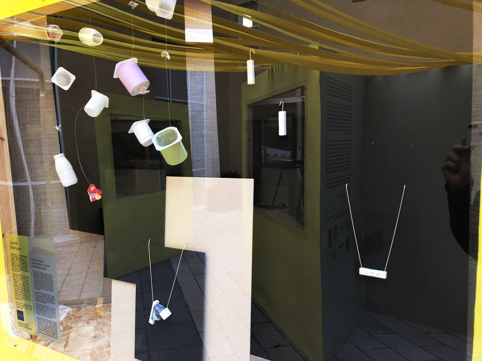 The Eco Cube installation