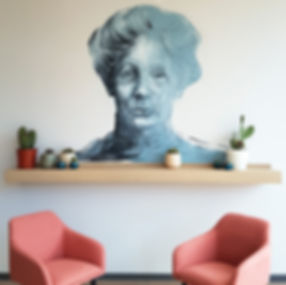 Tudor Place Student Accommodation Emmeline Pankhurst Mural