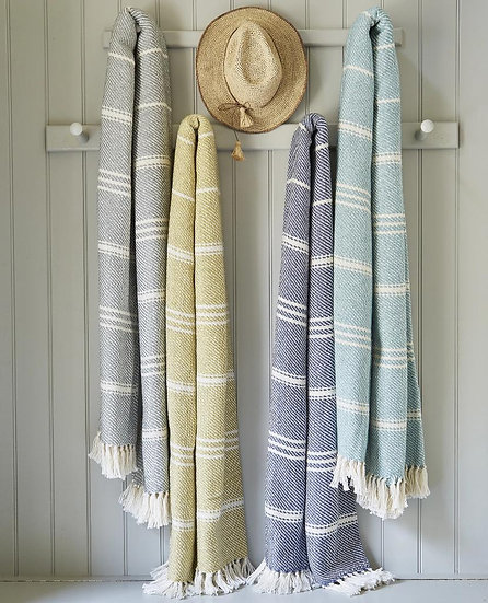 OXFORD BLANKET: Recycled plastic