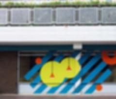 University Wes of Egland UWE Courtyard Refurbishment Window manifestatio Graphic