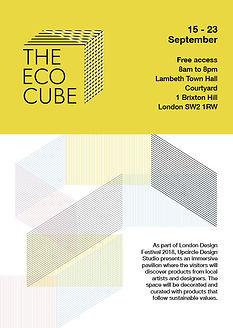 upcircle the eco cube marketing graphic design