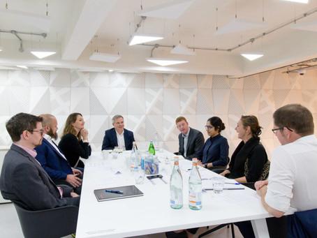 Sustainability roundtable with Knauf AMF