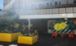 University Wes of Egland UWE Courtyard Refurbishment Vestre Furniture And loll Design