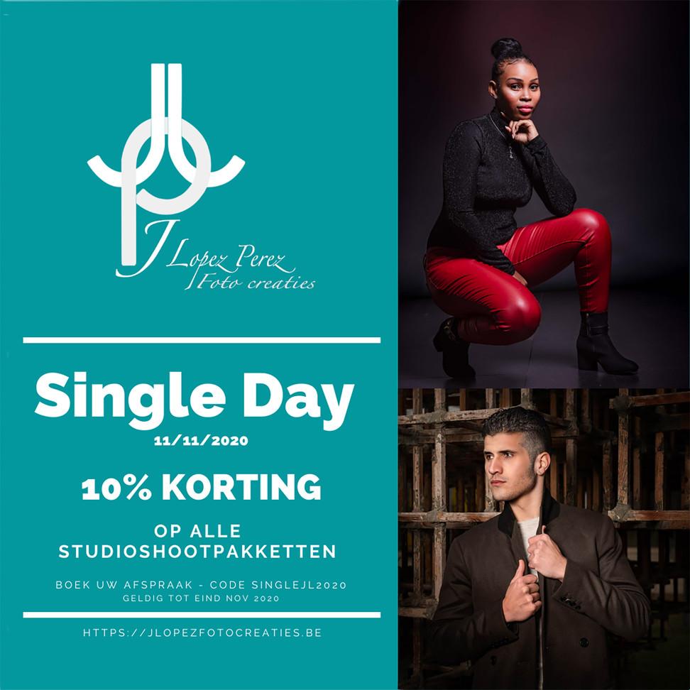 Singles  of vrijgezellen  dag, wil iedereen wel schitteren!