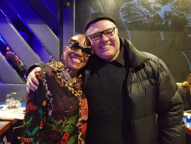 with Dee Dee Bridgewater