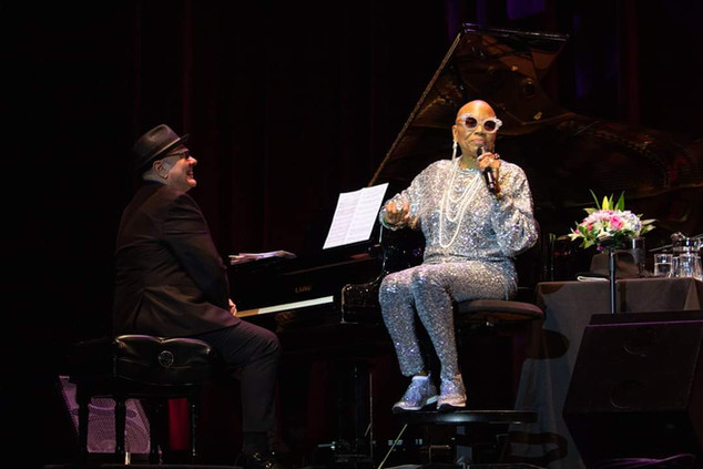 with Dee Dee Bridgewater in Atlanta 2020