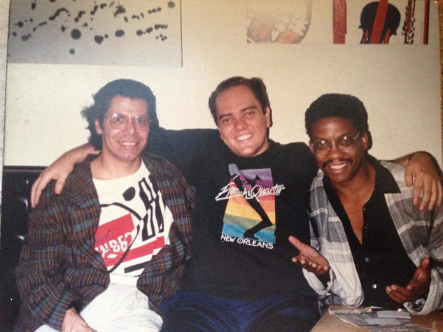 with Chick Corea & Herbie Hancock
