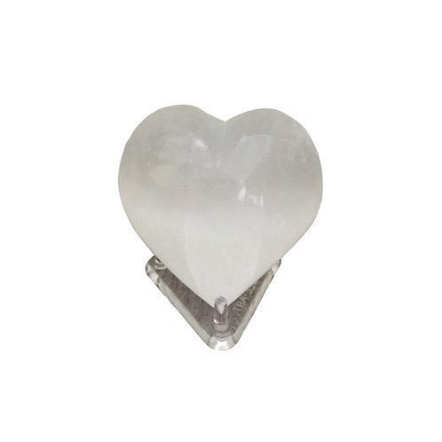 Selenite Heart