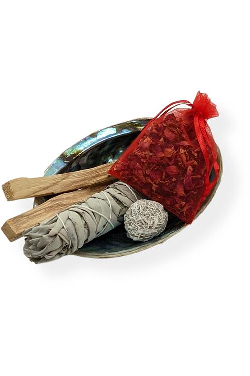 Love, Abundance and Protection Smudge Kit