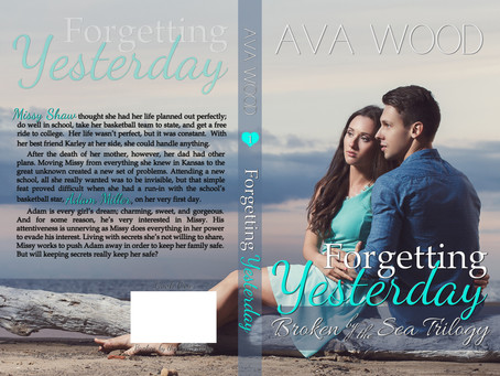 Cover Reveal of Forgetting Yesterday