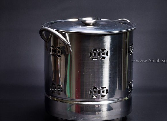 Others-0011-Stainless Steel Pail 白钢金纸桶