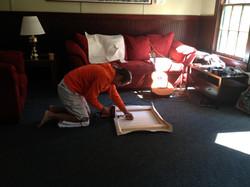 Eric Jiaju Lee Stretching Canvas