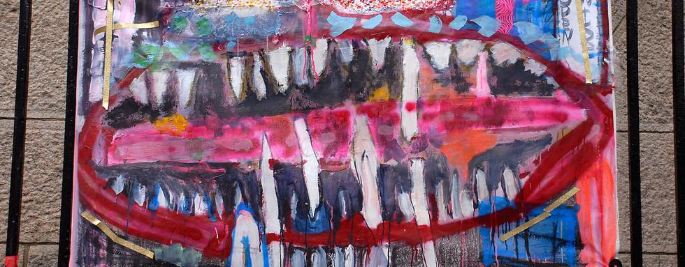 """Vice Grip Slit"" - Rosemary Taylor"