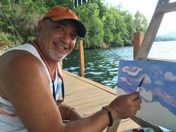 Nestor On The Boat Dock