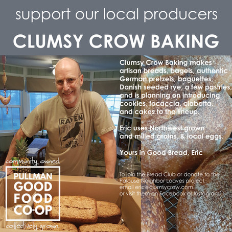 Yours in Good Bread: A Conversation with Clumsy Crow Baking's Eric Sorensen