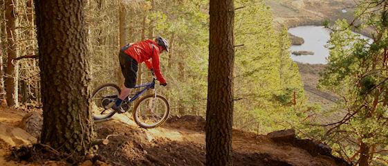 Mountain biking in Glenlivet