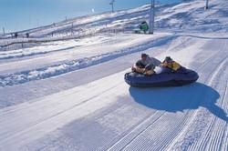 Tubing at Lecht Ski area
