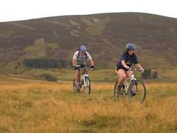 Glenlivet estate cycling trail